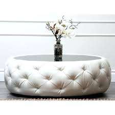 tufted ottoman coffee table turned diy uk large round