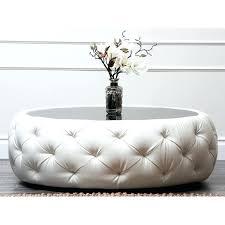 tufted ottoman coffee table large round with shelf u2013 tfreeamarillo com