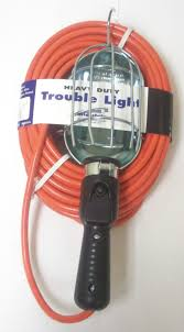 Trouble Light Heavy Duty 50 Ft Power Extension Cord Trouble Light 16 3 Made In