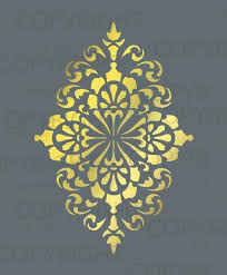 Floral Wall Stencils For Bedrooms Best 25 Wall Stencil Patterns Ideas On Pinterest Stencil