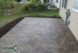 How To Paver Patio Crest Hill Brick Paver Patio Crest Hill Contractor Delaney
