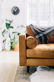 Leather Sofa Inspiration  Happy Interior Blog - Leather sofa interior design