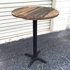 Stainless Steel Bistro Table Best 25 Round Bar Table Ideas On Pinterest Stainless Steel Flat
