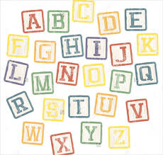 9 printable block letters free sample example format download