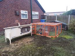 Large Rabbit Hutch With Run Large Rabbit Hutches And Run From Boyle U0027s Pet Housing Http Www