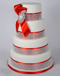 4 tier wedding cake structure with beautiful crystals online