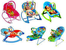 Infant Rocking Chair Baby Portable Swing Seat Toy Bar Infant Rocker Chair Soft Toys