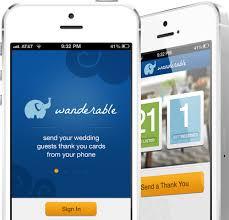 wedding registry app mobile app for free wedding and honeymoon registry wanderable
