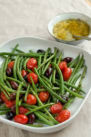 cuisine haricot vert haricot vert salad with anchovy vinaigrette dressing dang that s