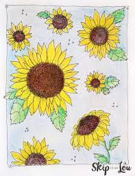 Kansas Day Sunflower Coloring Page Skip To My Lou Sunflower Coloring Page