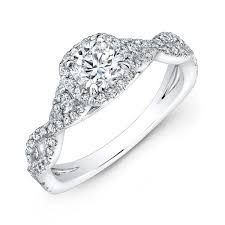 gold engagement rings cushion cut 0 86 cttw unique cushion cut ring harold jewelers