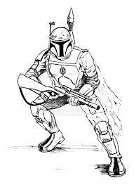 holiday coloring pages boba fett coloring pages free printable