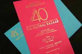 40th anniversary invitations fpo travel leisure 40th anniversary party invite