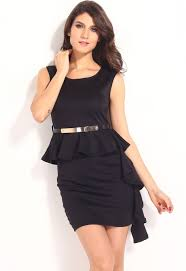 the stylish black dresses women styles hairstyles makeup