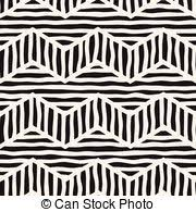 brown tribal design background of an abstract vector clipart