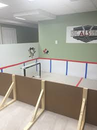 Cool Hockey Bedroom Ideas Mini Knee Hockey Rink Made By Mom Using Poster Board And Vinyl