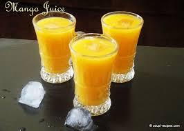 Mango Juice mango juice recipe healthy summer drinks udupi recipes
