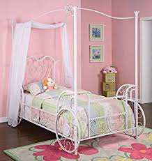 Shabby Chic White Bed Frame by Amazon Com Powell Princess Emily