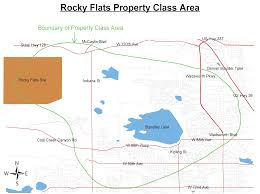 Colorado On The Map by Rocky Flats Settlement