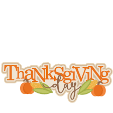 thanksgiving day title svg scrapbook cut file clipart files