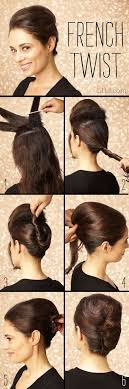 step by step twist hairstyles 14 fabulous french twist updos pretty designs