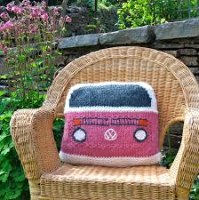 Knit Cushion Cover Pattern Campervan Cushion Cover Competition Last Few Days Slightly