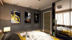 Masculine Decorating Ideas by Attractive Masculine Bedroom Design Interior Ideas Modern