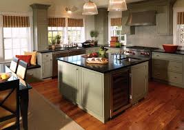 craftsman style kitchen arts and crafts cabinets brown metal mini