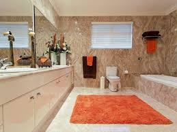 small bathroom designs with shower dark brown varnished wooden