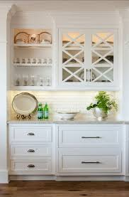 white kitchen cabinet with glass doors how to make your kitchen beautiful with glass cabinet doors