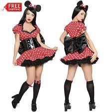 Minnie Mouse Womens Halloween Costume Aliexpress Image