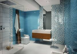 mosaic bathroom tile ideas cool blue mosaic bathroom tiles design interior design