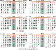 Kalender 2018 Hari Raya Puasa Hanya Ada Satu Safembrik