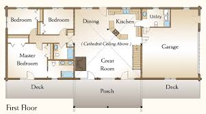 3 bedroom cabin floor plans ranch cabin floor plans home deco plans