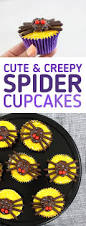 cute and spooky spider cupcakes lifestyle blog