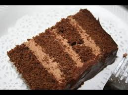 chocolate fudge cake with mocha mousse filling youtube