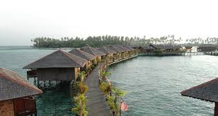 information about the sipadan water village resorts hosting the