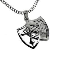 armor of god necklace mens christian necklaces cross necklaces nail necklaces more