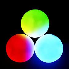 glofx 78 mm professional led juggling balls glofx