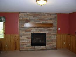 fireplace stone installation