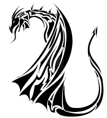 29 best tribal dragon tattoo drawings images on pinterest tribal