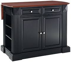 crosley kitchen island crosley kitchen island rolling cart with solid black granite top in