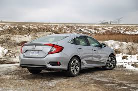 honda civic 2016 sedan quick spin 2016 honda civic ex t canadian auto review