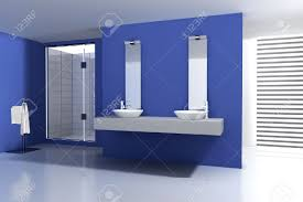 bathroom with modern and contemporary design and furniture