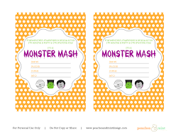 Halloween Birthday Poems Cute Halloween Party Card With Space For Text Royalty Free Which