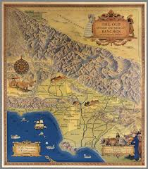 Map De Los Angeles by The Old Spanish And Mexican Ranchos Of Los Angeles County David