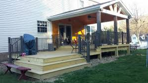Building An Awning Over A Door Exterior Home Design Gray Siding Gable Roof Front Door Stone