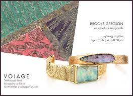 and jewelry gregson watercolors and jewelry event