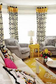 Yellow Window Curtains Grey And Yellow Curtains Free Home Decor Oklahomavstcu Us