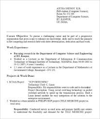 Sample Resume For Assistant Professor In Engineering College Pdf by Resume For Freshers U2013 7 Free Samples Examples Format